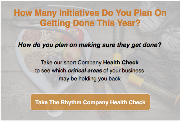 Take the Rhythm Company Health Check to find out the areas of your business holding you back