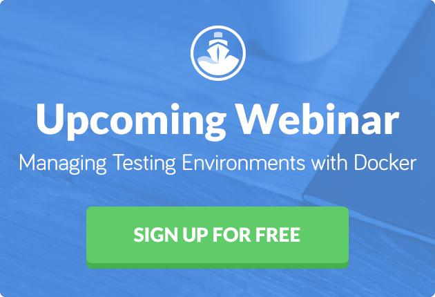 Free Codeship Webinar - Running Your Tests with Docker