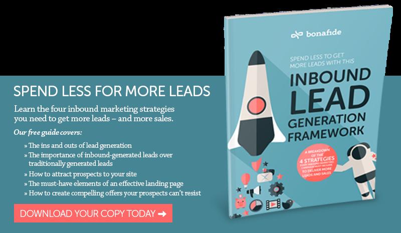 Inbound Lead Generation Framework