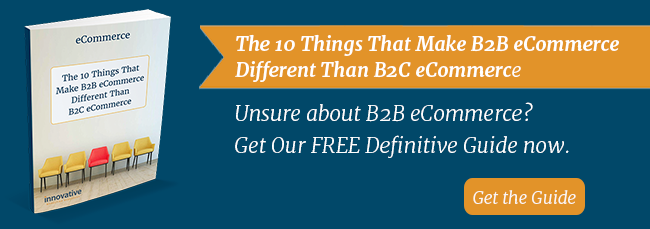 Download the 10 things that make B2B ecommerce different than B2C