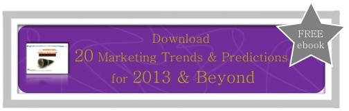20 Marketing Trends For 2013