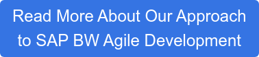 Read More About Our Approach to SAP BW Agile Development
