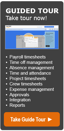 ultimate guide to payroll time & expense tracking | pacific timesheet