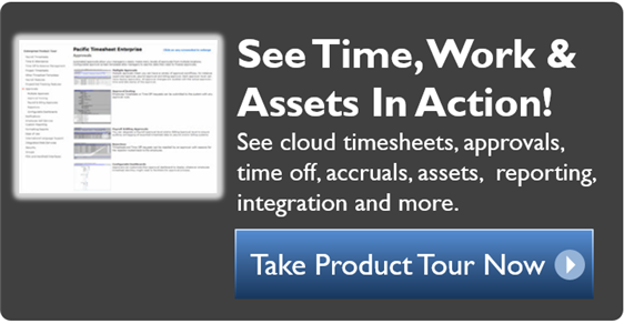 Get Pacific Timesheet
