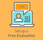 Click to set up a free evaluation