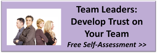 team leaders develop trust on your team in the workplace