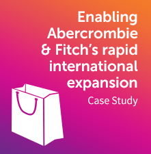 PXP Abercrombie & Fitch case study
