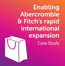 PXP Abercrombie & Fitch case study