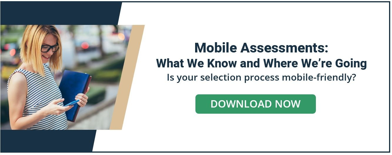 Mobile Assessments What We Know and Where We're Going