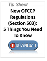 ofccp regulation, ofccp section 503, tip sheet
