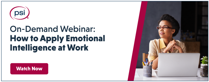 apply emotional intelligence at work