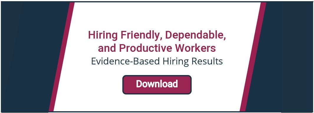 hiring friendly dependable productive workers