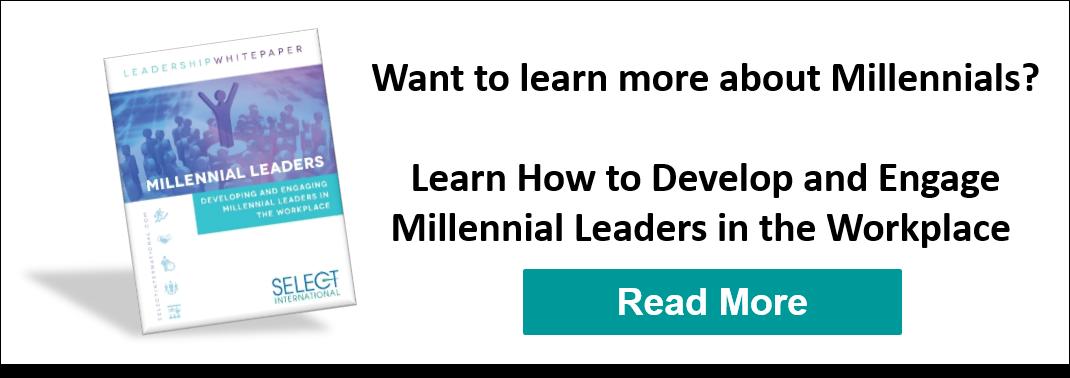 develop millennial leaders