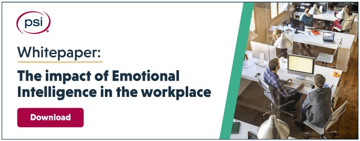 impact of EI in the workplace
