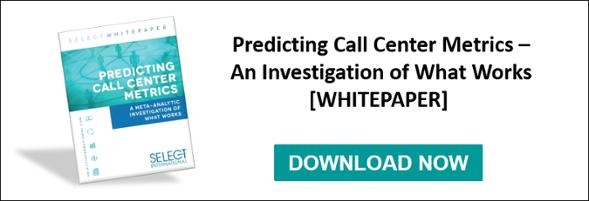 predicting call center metrics