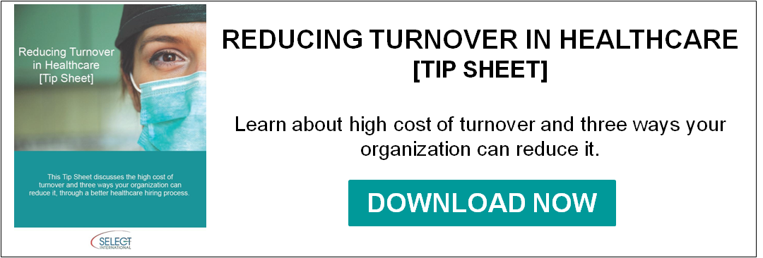 Reducing Turnover in Healthcare