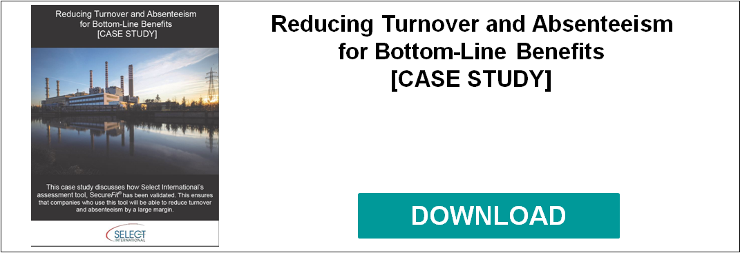 Reducing Turnover and Absenteeism for Bottom-Line Benefits