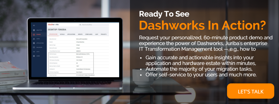 Click here to request a Juriba Dashworks demo