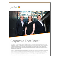 Click here to download Juriba's Corporate Fact Sheet