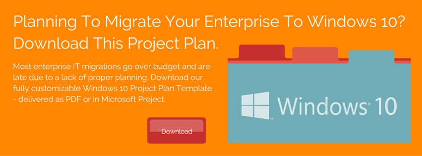 Click here to download the Windows 10 Project Plan Template