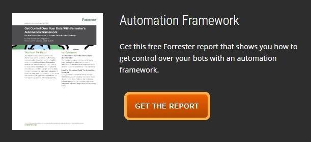Forrester Automation Framework Report