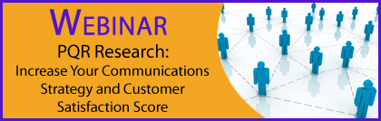 Webinar on customer satisfaction and outage communications