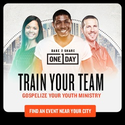 Dare 2 Share One Day training coming to a city near you!
