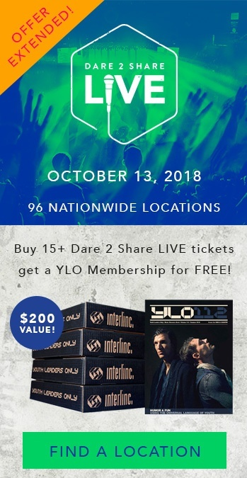 Check out this crazy good deal on Dare 2 Share LIVE tickets!