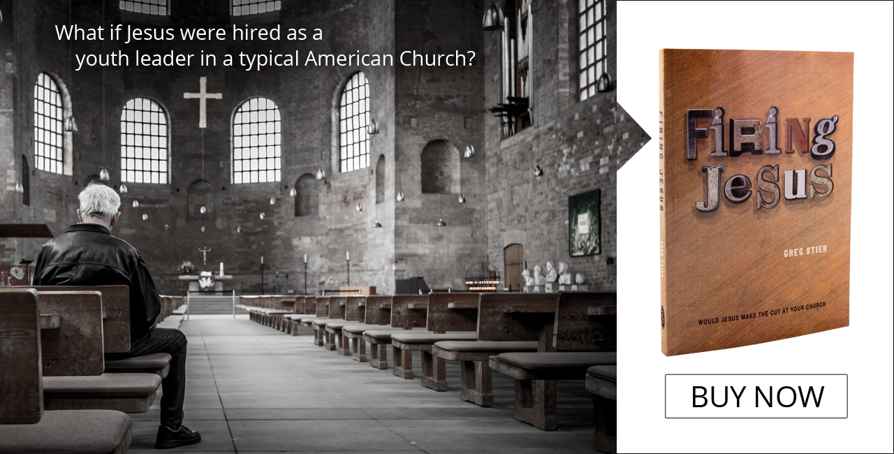 Check out Firing Jesus by Greg Stier!
