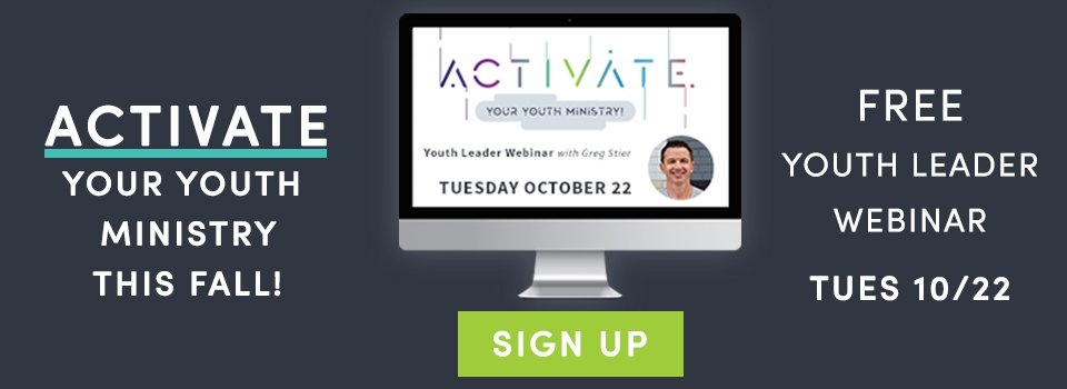 Sign up for the free youth leader training - Activate Your Youth Ministry