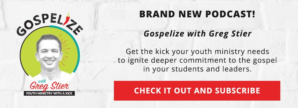 Subscribe to Gospelize with Greg Stier podcast