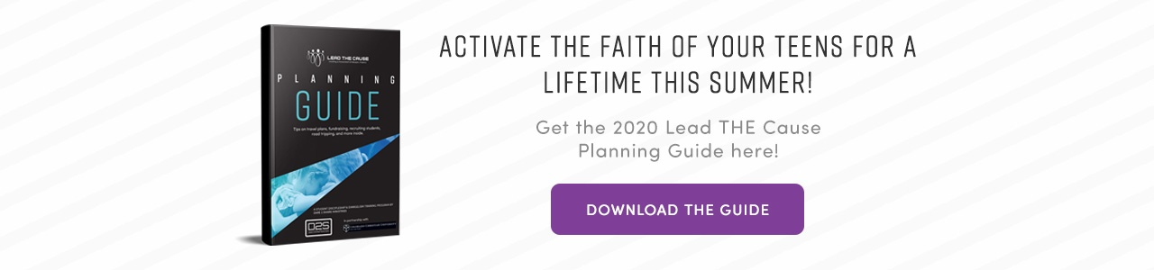 Get the 2020 Lead THE Cause Planning Guide