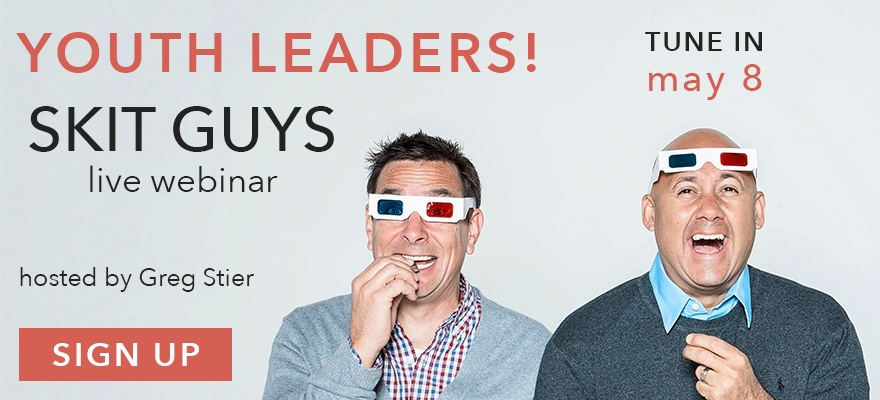 Sign up now for the Skit Guys webinar coming May 8
