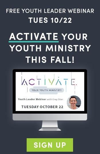 Activate your youth ministry - free webinar