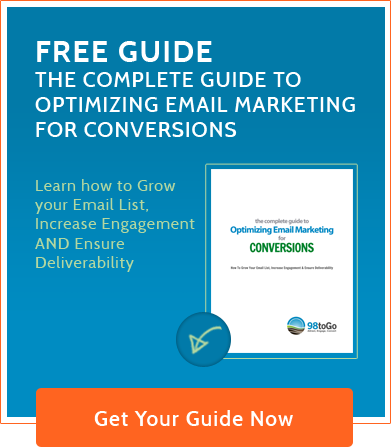 Free Guide to optimizing email marketing template