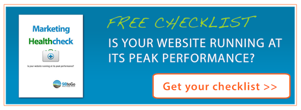 Free Marketing Health Checklist Button