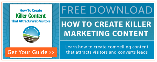 How to create killer marketing content free ebook by 98toGo