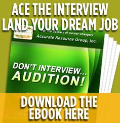 ace the interview land your dream job down the ebook Don't Interview- Audition