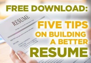 free download 5 tips on building a better resume