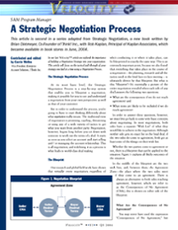 Velocity - Strategic Negotiation Process