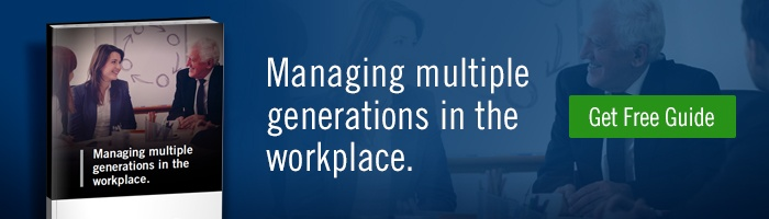 Free Guide: Managing multiple generations in the workplace.
