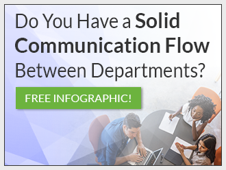 Communication Flow Infographic