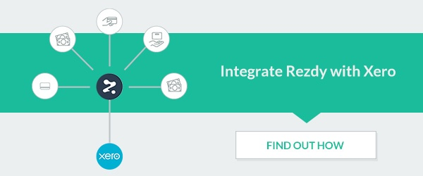 xero integration rezdy user roles