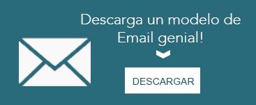 Descarga un modelo de email genial