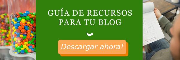 guia de recursos para tu blog