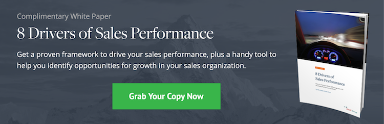 Download Now: 8 Drivers of Sales Performance White Paper