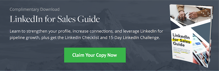 Download: LinkedIn for Sales Guide