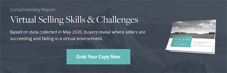 Download: Virtual Selling Skills & Challenges Report