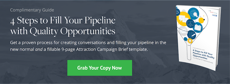 Download: 4 Steps to Fill Your Pipeline with Quality Opportunities Guide