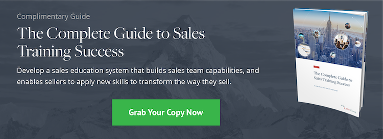 The Complete Guide to Sales Training Success
